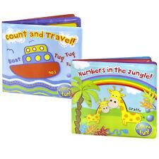 2 x First Steps Floating Bath Books Educational /& Fun Bath Toy for Baby