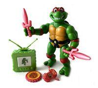 Toon Raph Vintage TMNT Ninja Turtles Action Figure Complete 1992 Cartoon Raphael