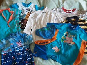 Boys SPEEDO size 6 rashie bulk lot 9 items Country Road Peppa Pig t-shirt rash