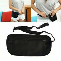 Hidden Travel Money Belt Waist Security Wallet Bag Passport Pouch RFID Holder