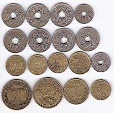 COLLEZIONE di monete francesi *** Da collezione *** alta qualità ***