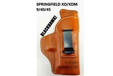BLACKHAWK LEATHER INSIDE WAISTBAND HOLSTER SPRINGFIELD XD/XDM RIGHT 421411BN-R