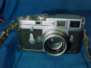 Vintage LEICA M3 35mm RANGEFINDER CAMERA F=5cm 1:2