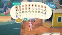 Animal Crossing New Horizons Nixen-Rezepte + 100 Perlen + 100 Sand Dollar