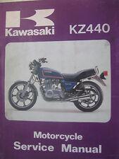 1980-82 Kawasaki  KZ440 : Factory Service/ Repair Manual