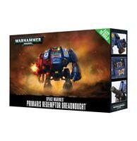 Easy to Build Primaris Redemptor Dreadnought Space Marine Warhammer 40K NIB