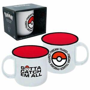 Tasse Pokemon Trainer   Pokémon   400 ml   Keramik   In Geschenkbox