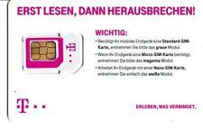 T-Mobile D1 T-D1 Prepaid SIM Karte - Aktiv / Registriert / Aktiviert