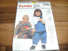 BURDA-BABY Schnittmuster 2924                4teilige KOMBINATION          68-98