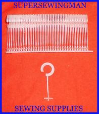 New 1000 Pcs J Hooks Standard Price Tag Tagging Tagger Pin Barbs Fasteners 2