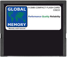 512MB COMPACT FLASH CARD MEMORY FOR CISCO 3800 SERIES ROUTERS ( MEM3800-512CF )