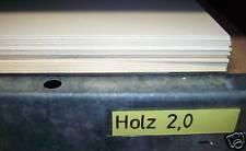 HOLZPAPPE Finnpappe Modellbaukarton 70x100cm 2,0mm 5Bg