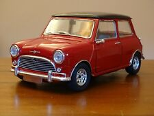 1/16 Mini Cooper S Mark I Solido Austin Morris BMC Twin Tanks Tartan Red 1/18