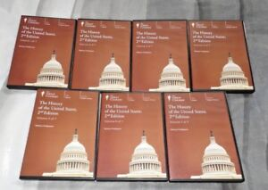 The History Of The United States 2nd Edition Vol 1-7 (AUDIO CDs, 42 Discs)