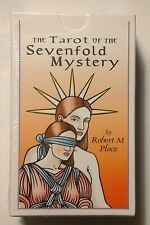 The TAROT of the SEVENFOLD MYSTERY Cards Deck by Robert M Place COLLECTIBLE 2012
