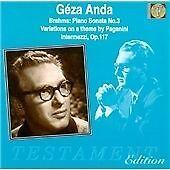 Geza Anda Plays Brahms, , Very Good Import