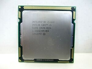 Intel Core i5-660 3.33GHz SLBTK CPU Desktop Processor