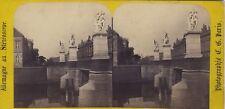 Berlin Prusse Allemagne Photo C. Gaudin Paris Stereo Vintage Albumine ca 1865