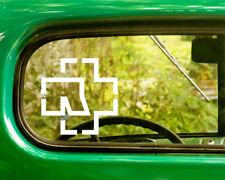 2 RAMMSTEIN DECAL Bogo Stickers For Car Truck Window Bumper Rv Laptop