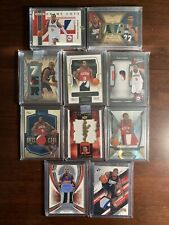 10 Andre Iguodala Patch Lot Rookie SP Game Used Exquisite /25 /50 /75 (Read)