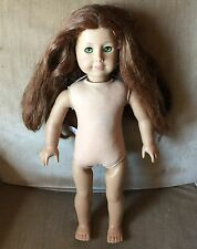 American Girl Doll Felicity Nude Retired - Green Eyes