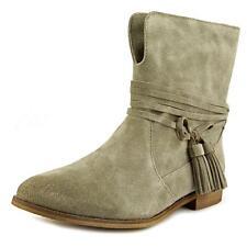 Wadenhohe Damen-Stiefel aus Wildleder mit 30-39 Größe