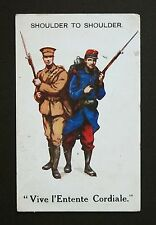 1915 WW1 Postcard Soldier Rifle Fixed Bayonet Milford Haven Pembrokeshire Wales