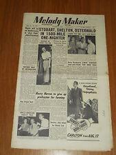 MELODY MAKER 1950 #888 AUG 12 JAZZ SWING STOBART SHELTON HENRY MACKENZIE HEATH