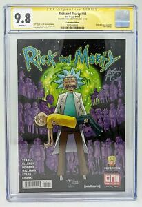 Rick & Morty #44 Crisis Variant Cover CGC 9.8 Signed by Greg Kirkpatrick