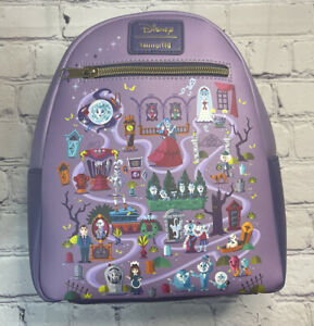 Loungefly Disney Haunted Mansion Mini Backpack Adorable In Hand NWT