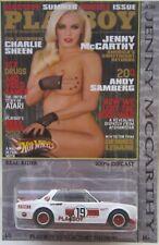 Hot Wheels CUSTOM NISSAN SKYLINE Playboy Jenny McCarthy Real Riders 1/5 Made!