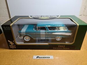 1957 Chevrolet Nomad Highland Green 1:18 Road Signature Deluxe Die-Cast NOS