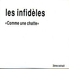 ★☆★ CD Single Les INFIDELES Comme une chatte - Promo 2-Track CARD SLEEVE ★☆★