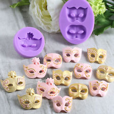 3D Mask Silicone Fondant Mould Cake Decorating Chocolate Baking Mold Diy Tool