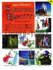 Vintage Reprint - 1958 - Sleeping Beauty Stamp Book - Reproduction