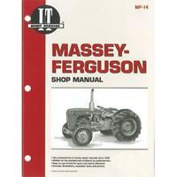 I&T Service Shop Repair Manual Fits Massey Ferguson Tractor TO35 40 35 50 MF14