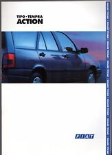 Fiat Tipo & Tempra SW Action Limited Edition 1994 UK Market Sales Brochure