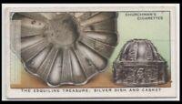 Ancient Roman Silver Esquiline Treasure Rome Italy 1793 80 Y/O Trade Ad Card