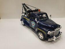 1953 Chevrolet 3100 wrecker blue kinsmart TOY model 1/38 scale diecast Car gift