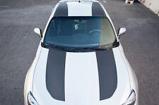 Subaru BRZ Full Roof Stripes Graphics Vinyl Decals Part Carbon Fiber FRS 13-16