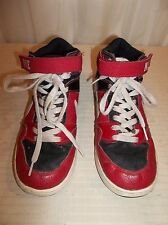 Nike Boys Size 6.5 Y Blue RED WHITE  Athletic SKATE Shoes 645996-610