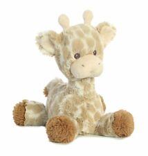 "Ebba Loppy Giraffe Rattle Plush Toy Stuffed Animal 11"" Baby Child Jungle Aurora"