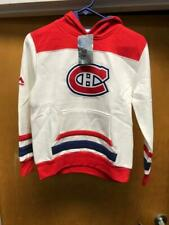 Nhl Youth Large Montreal Canadiens Long Sleeve Team Pullover Hoodie New