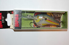 "rapala dt-10 dt10 sd shad dives to 10' bass lure crankbait 2 1/4"" 3/5oz"