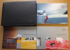 GENUINE AUDI A4 B6  HANDBOOK OWNERS MANUAL WALLET 2000-2004 PACK 11335