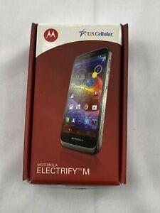 US Cellular Motorola Electrify M XT901 Cell Phone Gray