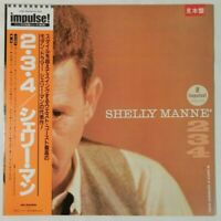 Shelly Manne 2-3-4 MCA Records VIM-4654 OBI JAPAN PROMO VINYL LP JAZZ