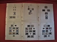 US POSTAGE STAMPS NEW UNUSED, YEARS 1975 thru 1977 FACE VALUE $5.55