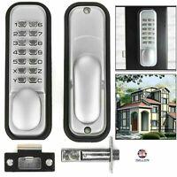 Digital Push Button Mechanical Combination Code Lock - Keyless Access