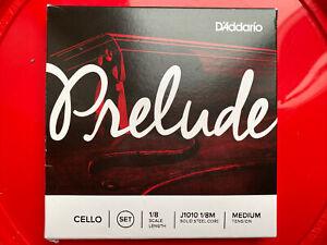 1/8 Size D'Addario Prelude Cello Strings Set (New)